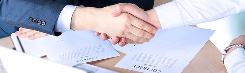 Factoring services for companies working with government contracts