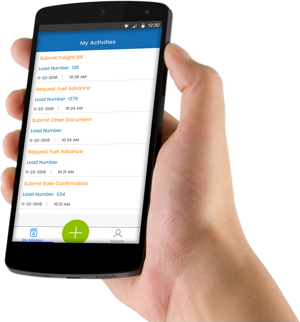 Mobile apps for factoring companies
